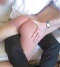 smæk i røven spanking OTK